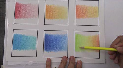Tuto Creer Des Degrades Aux Crayons De Couleur Crayon De