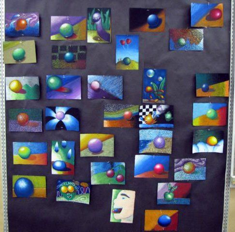 Art lessons for high schoolers mrs macre s art class 1 for Arts and crafts lesson plans for middle school