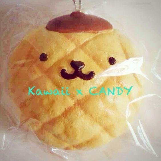 Pompompurin Squishy Bun : Pom Pom Purin Melon Bun Squishy Limited Quantity! ? Kawaii x CANDY ? Online Store Powered by ...