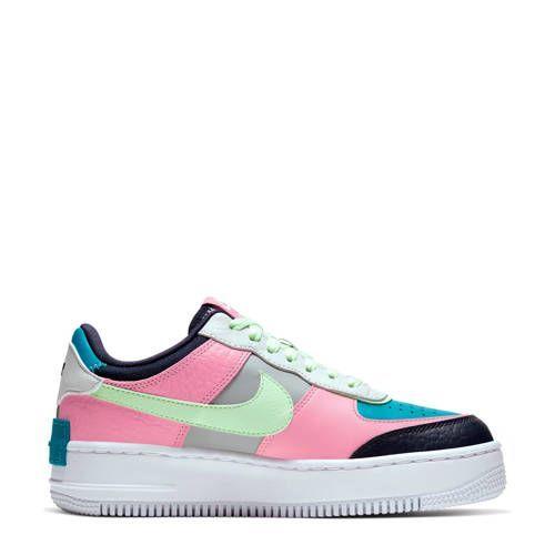 nike air max blauw roze grijs