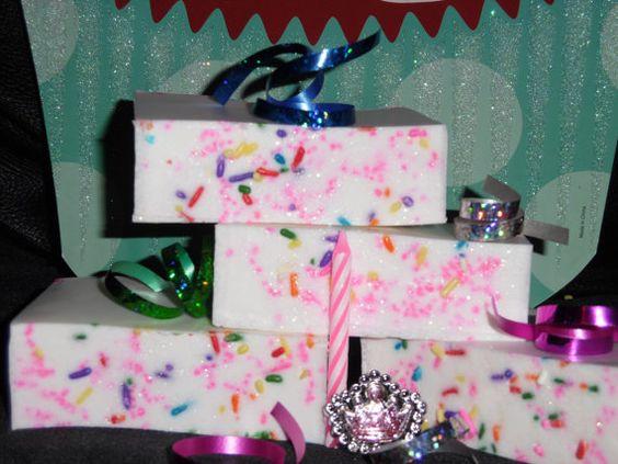 Happy Birthday Soap by ParadisebyPrincess on Etsy