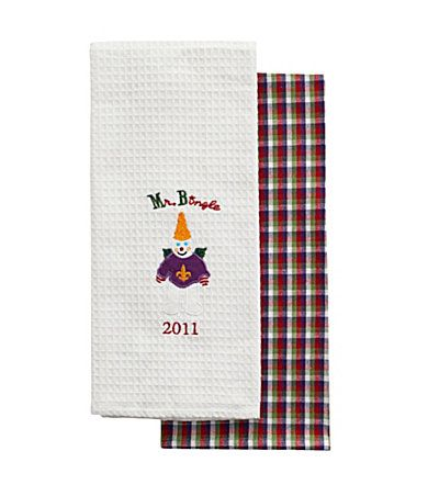 Mr Bingle Kitchen Towels I Grew Up With Mr Bingle At