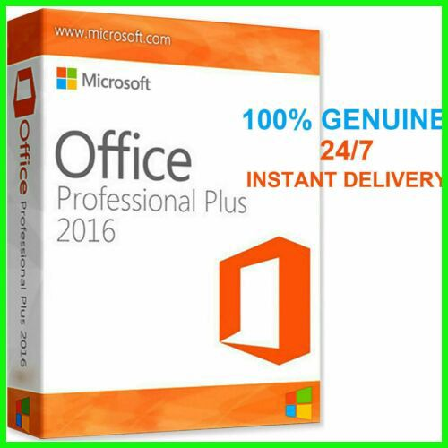 Microsoft Office 2016 Pro Plus 32 64 Bit Key Download Link Lifetim