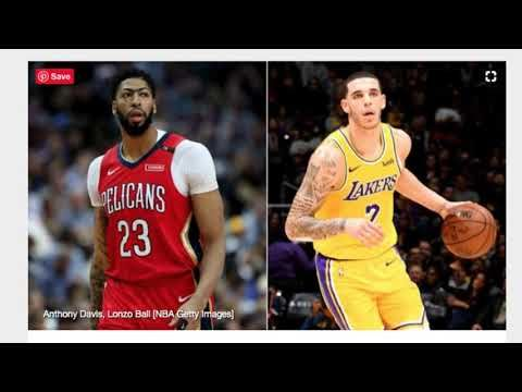 Breaking News Anthony Davistraded To Los Angeles Lakers Youtube Los Angeles Lakers Lebron James Team Brandon Ingram