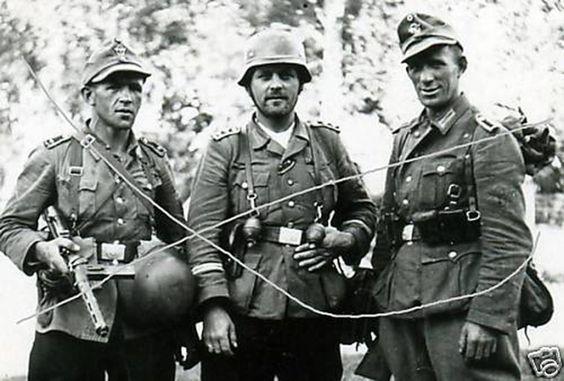 German troops near Normandy, France.