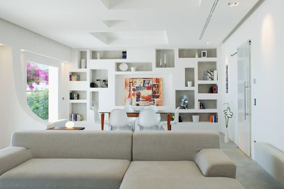 foto di soggiorno in stile in stile mediterraneo : villa time ... - Design Soggiorno Pranzo