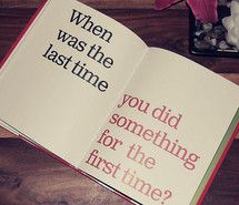quote, first time, last time,