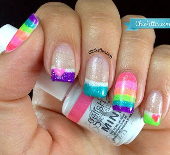 I loooove these nails!