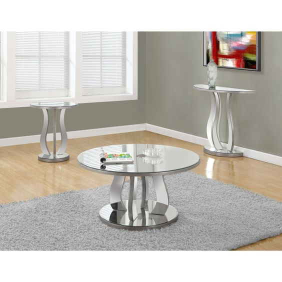 Elegant This Chic And Contemporary Mirrored Coffee Table Will Provide An Edge Of  Sophistication That Will Surely Pictures