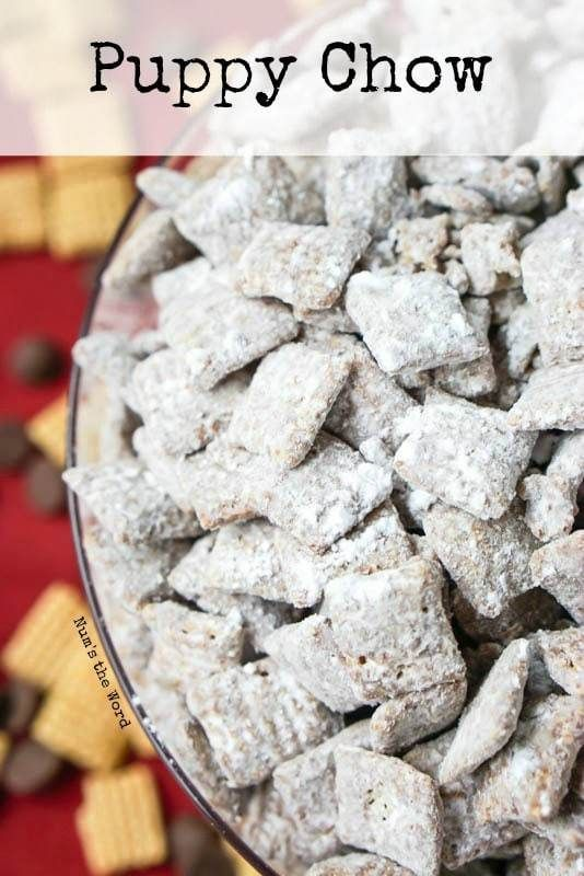 Puppy Chow Chex Mix Main Image For Recipe Chex Mix Puppy Chow