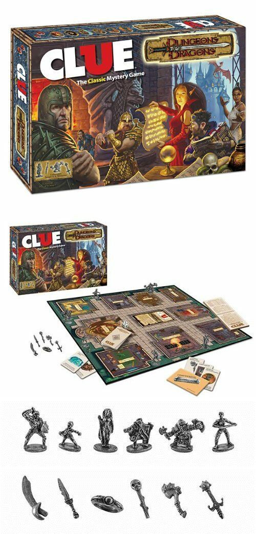 Other Dungeons And Dragons 2545 Dungeons And Dragons Clue Board Game Usaopoly Buy It Now Only 80 On E Clue Board Game Dungeons And Dragons Mystery Games
