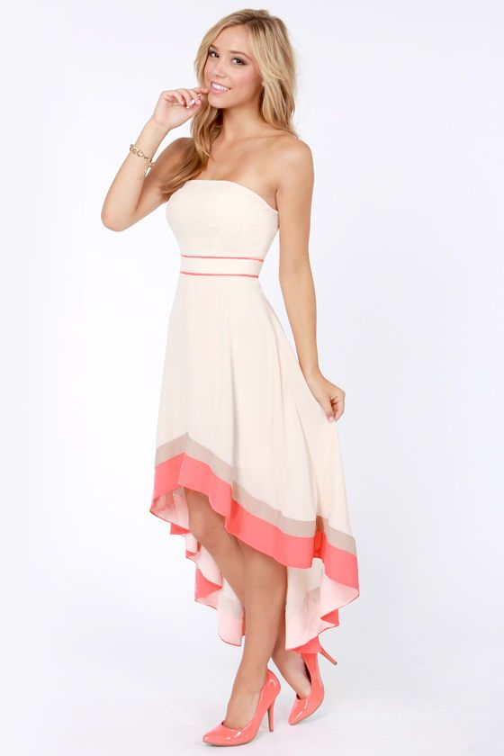 Who&39s That Lady Strapless Cream Dress  Pinterest  Models Hooks ...