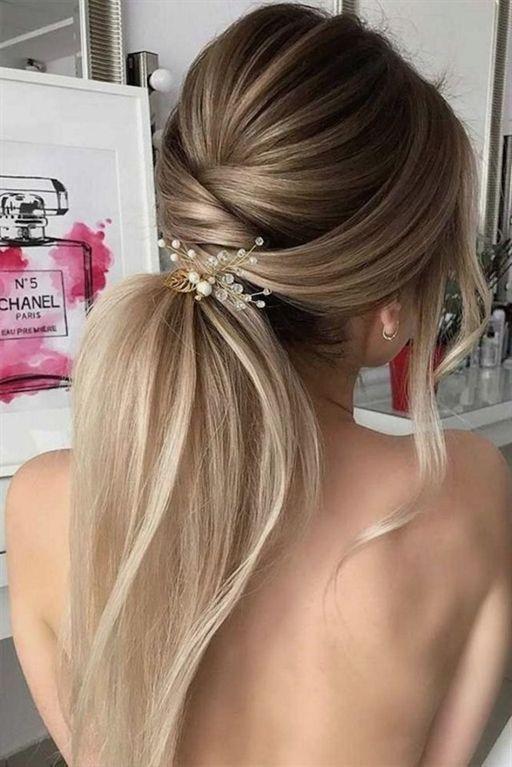 2018 Wedding Hairstyles Ponytail 2 Weddinghairstyles Hairstylesponytail Wedding Weddinghairst Coole Frisuren Hochzeit Pferdeschwanz Frisuren Haarschnitte