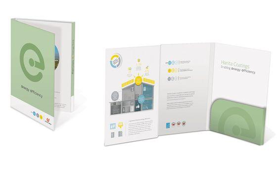 Hanita Folder By OZ Strategic Branding \ Design Promo Portfolio - resume folder