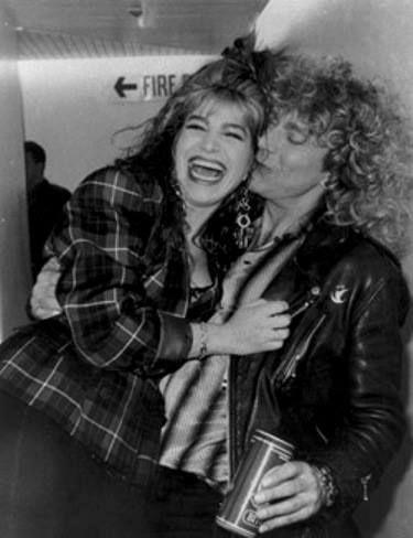 Robert Plant & a  fan :)
