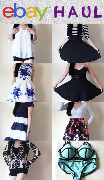 eBay Shopping Haul! Cute, cheap clothes from Asia! Korean and ...