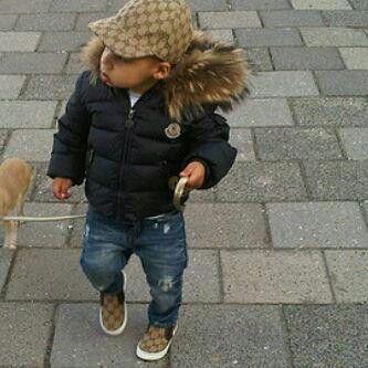 Moncler Jacka Baby