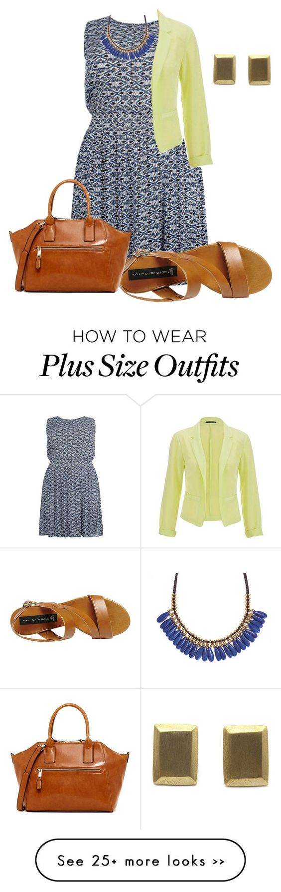 """""""easy plus size summer office look2"""" by kristie-payne on Polyvore"""