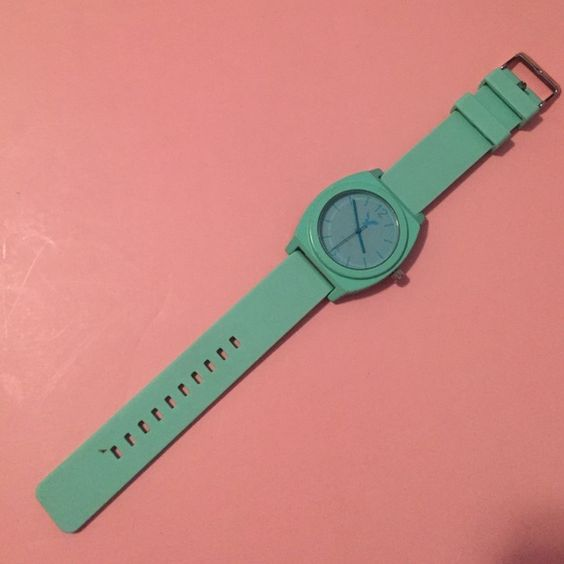 Mint Green Watch American Eagle Outfitters mint green watch American Eagle Outfitters Jewelry