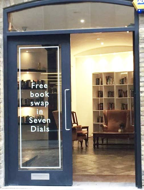 Posted on Cityloque FREE BOOK SWAP This is the most stylish free book swap you'll ever encounter in #London. #SevenDials #CoventGarden