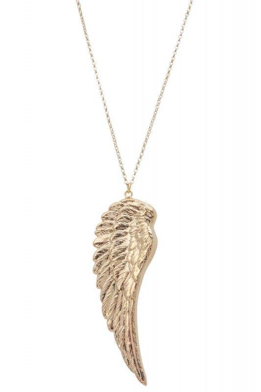 Tomshot Halskette mit Flügel-Anhänger. www.styleserver.de