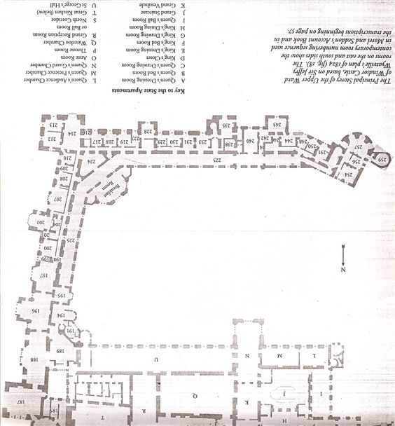 Upside Down Plan Of The First Floor State Apartments At