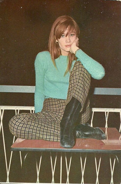 Françoise Hardy. #the2bandits #lookswedig: