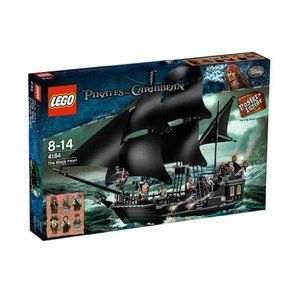 New Lego 4184 Pirates of The Caribbean The Black Pearl SEALED 673419145039 | eBay....$169.95