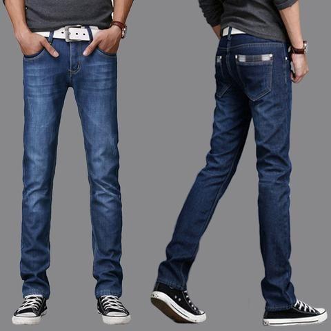 New Free Shipping Hot Sale Classic Brand Slim Straight Men