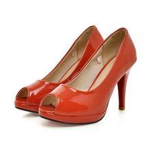 Keenfashion frete grátis Comfort Womens Peep Toe aberto de salto alto Stiletto sandálias sólidos SMT0655(China (Mainland))