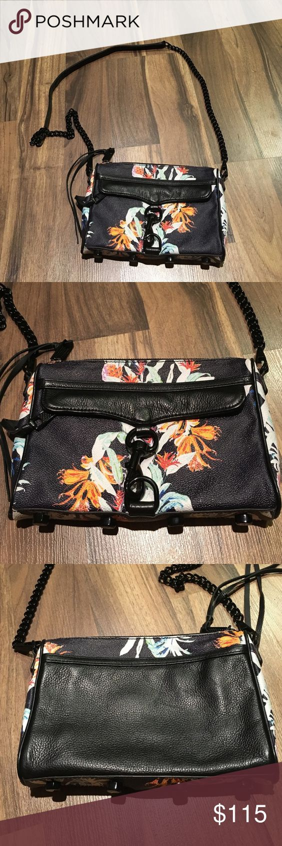 Rebecca Minkoff mini Mac Rebecca Minkoff mini Mac used once in perfect condition. Does not include a dust bag as it was purchased without one. Rebecca Minkoff Bags Crossbody Bags
