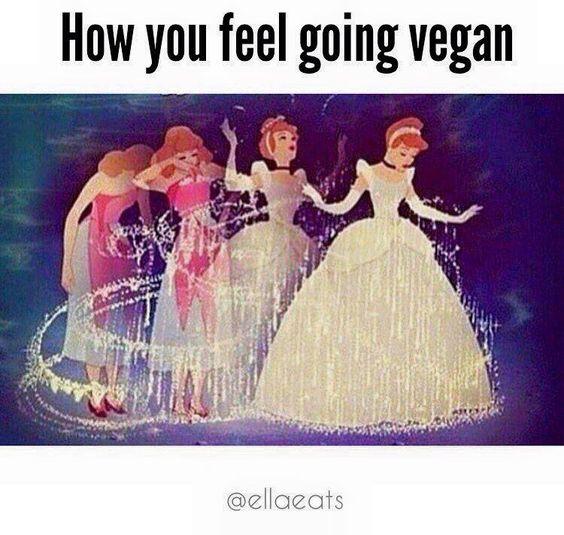 how you feel going #vegan
