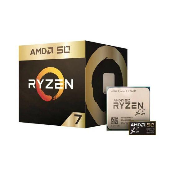 Amd Ryzen 7 2700x Gold Edition 8 Core 3 7ghz 16mb Am4 Desktop Processor Cpu Amd 이미지 포함