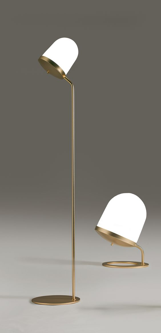 The bigger floor lamp and than the smaller | #InteriorDesign #Decor #FloorLamp…: