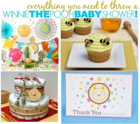 winnie the pooh getting ready for baby and baby showers on pinterest