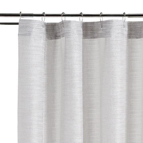 Audrey Shimmer Pearl Shower Curtain Shower Curtain Curtains