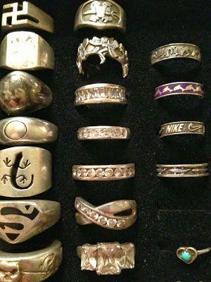 Rings found metal detecting