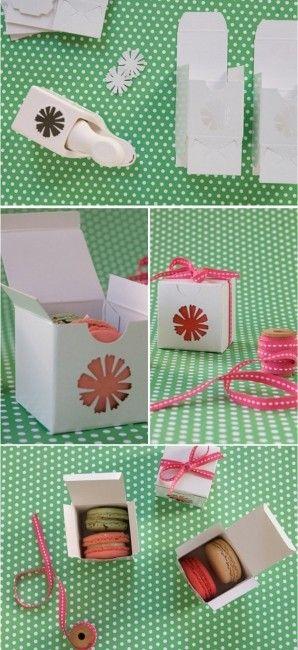 tuto boite cadeau pour macarons d coration forum bo tes en cartons et. Black Bedroom Furniture Sets. Home Design Ideas
