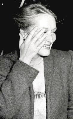 Super Seventies — Meryl Streep arriving at Woody Allen's New Year's...