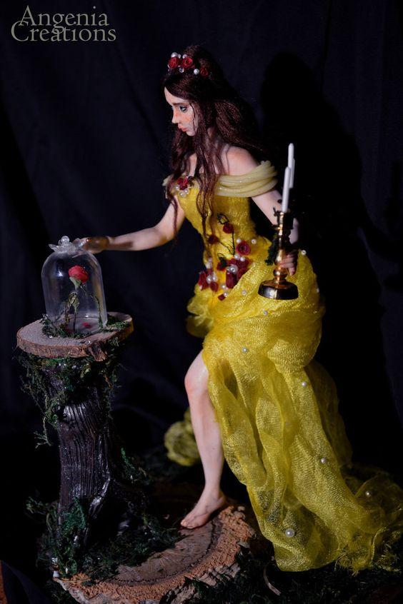 Ooak Belle  fan art by Angenia Creations by AngeniaC
