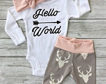 Hoodie baby coming home outfit / take home outfit / von BumsNRoses