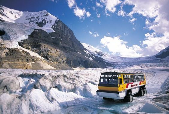 columbia-icefields I would LOVE to do the Full Moon Trek in one of the big Brewster Ice Explorers
