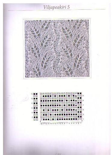 Шарфы  Вязание крючком и спицами схемы и модели