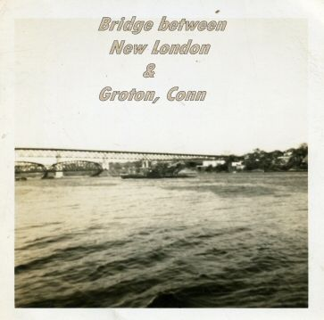 Gold Star Memorial Bridge between New London and Groton, Conn.