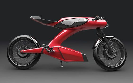 50th Anniversary Honda Super 90 Concept Motorcycle by Igor Chak