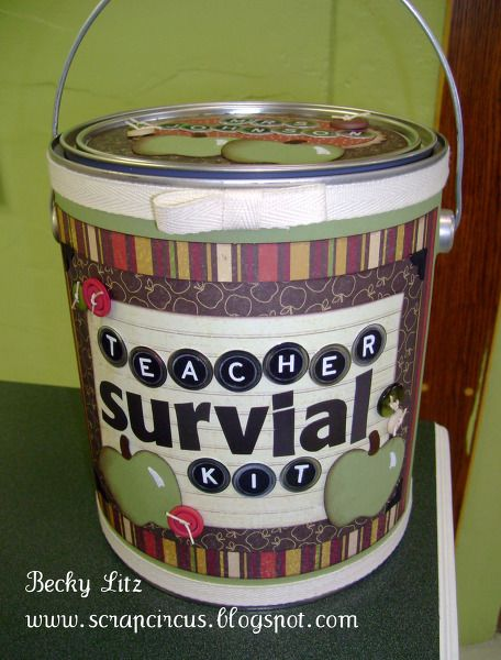 great gift...Teacher's Survival Kit: