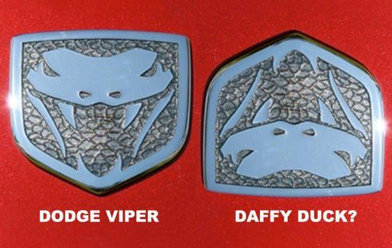 Dodge Viper or Daffy Duck?  You decide...