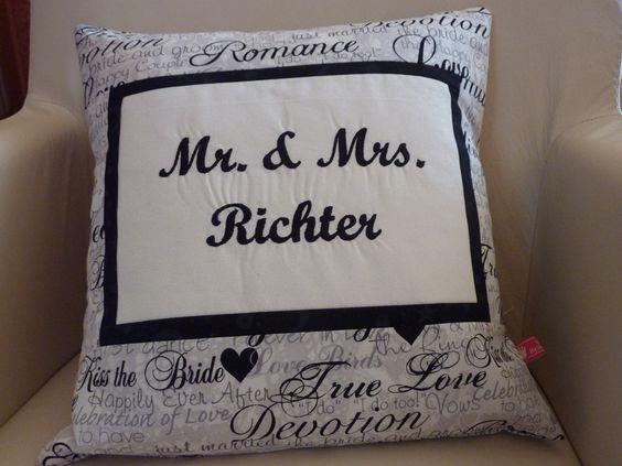 """*""""Mr. & Mrs."""" ........* Eine ganz tolle Idee zur Hochzeit um evtl. damit einen Gutschein zu verschenken. *Wedding - Just married..."""