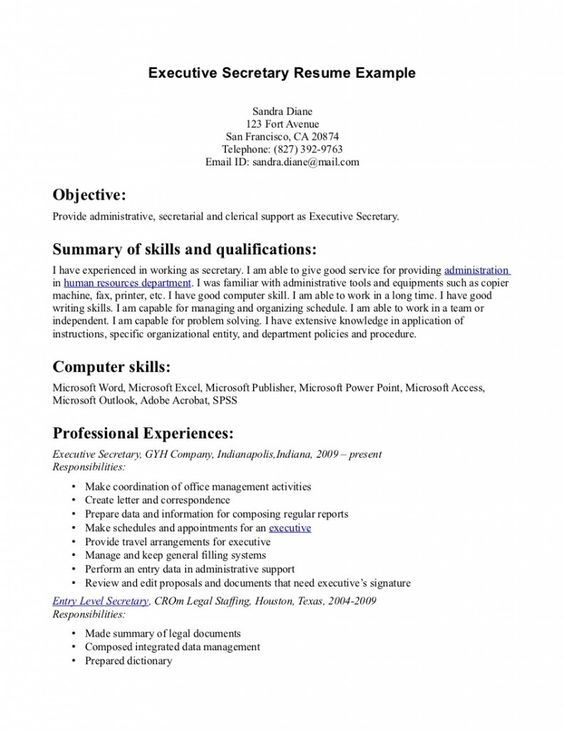 Cpa Resume Objective | Resume Samples | Pinterest | Resume ...