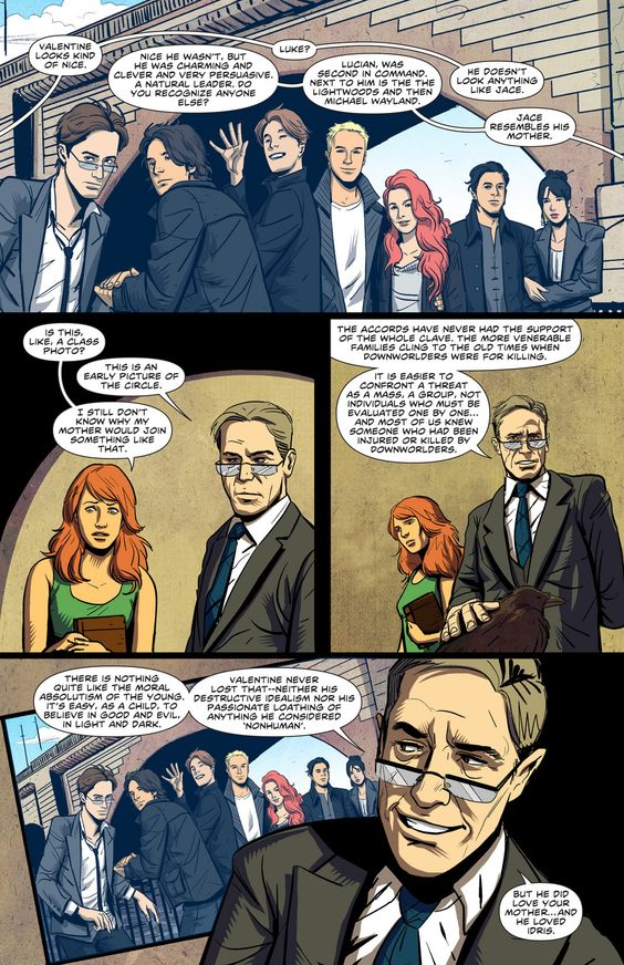 City of Bones graphic novel: Issue 5